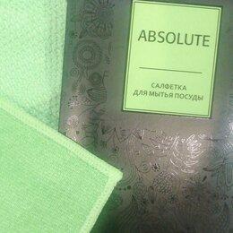 Тряпки, щетки, губки, салфетки - Гринвей салфетка aquamagic absolute для мытья посуды, 0