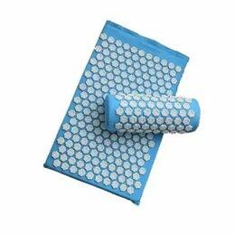 Массажные матрасы и подушки - Акупунктурный массажный набор коврик+подушка+чехол , 0