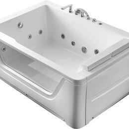 Гидромассажеры - Гидромассажная ванна Gemy G9226 B (1720x1210x665) хромотерапия, смеситель, по..., 0