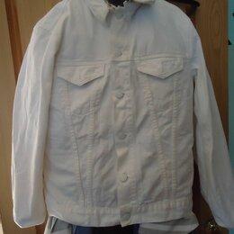 Пиджаки - Джинсовый пиджак J Brand  L Made in USA, 0
