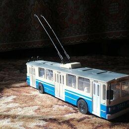Машинки и техника - Технопарк троллейбус зиу 682 игрушки, 0