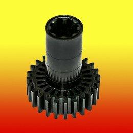 Аксессуары и запчасти - Шестерня черная, привод шнека к электромясорубке Braun, Ø62 мм, Ø31 мм., 0