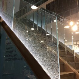 Лестницы и элементы лестниц - Стеклянные ограждения для лестниц, 0