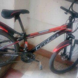 Велосипеды - Оранжево чёрный велосипед штерн, 0