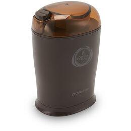 Кофемолки - Кофемолка Polaris PCG 1017, 170Вт, 50г, пластик, коричневый, 0