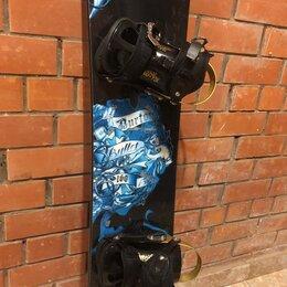Сноуборды - Сноуборд burton bullet 160+крепления+чехол, 0