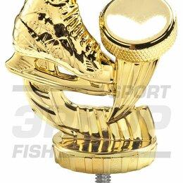 Дизайн, изготовление и реставрация товаров - Фигура Лидер пластиковая золото разм 7,5 см хоккей, 0