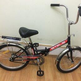Велосипеды - Велосипед стелс 310 пилот складной , 0