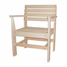 Кресла и стулья - Стул-кресло простое, осина, 0
