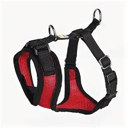 Шлейки  - HUNTER шлейка для собак MANOA M (44-55 см) нейлон/сетчатый текстиль красный , 0