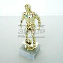 Дизайн, изготовление и реставрация товаров - Фигура Лидер пластиковая золото разм 13,5 см футбол защитник, 0