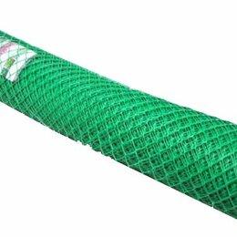 Заборчики, сетки и бордюрные ленты - Заборная решетка 60*60 мм (1,8 м*10 м) зеленая, 0