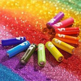 Батарейки - Батарейки алкалиновые ZMI ZI5 Rainbow AA batteries (10 шт.), 0