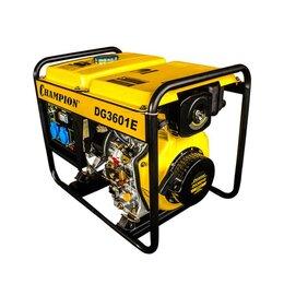 Электрогенераторы и станции - Дизельный генератор Champion DG3601E, 0