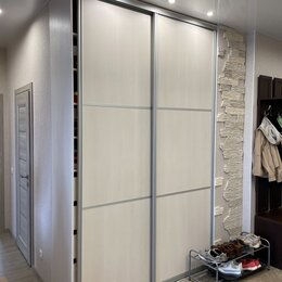 Шкафы, стенки, гарнитуры - Встроенный шкаф купе двухдверный, 0