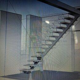 Дизайн, изготовление и реставрация товаров - Нужно сварить металлический каркас под лестницу, 0