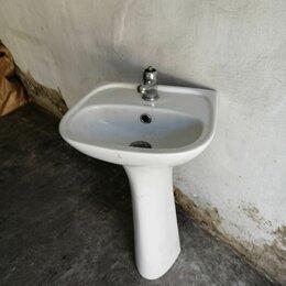 Раковины, пьедесталы - Малогабаритная раковина (30*40) для офиса, туалетной комнаты и т. п. , 0