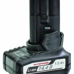 Аккумуляторные батареи - Аккумулятор Интерскол 2400.015 Li-Ion 14.4 В, 0