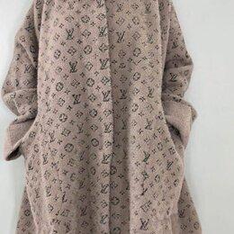 Пальто - Шерстяное пальто альпака большого размера р-ры 54-72, 0