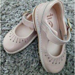 Балетки, туфли - Туфли Clark's first shoes, 0