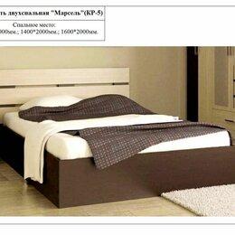 Кровати - Кровать двухспальная Марсель, 0