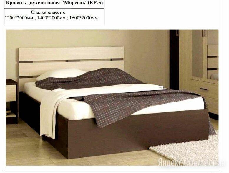 Кровать двухспальная Марсель по цене 5500₽ - Кровати, фото 0
