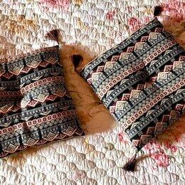 Декоративные подушки - Диванные подушки 2 шт 43х43 см комплект, 0