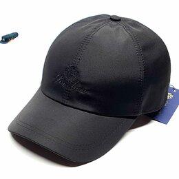 Головные уборы - Бейсболка кепка Stefano Ricci (черный) плащевка , 0