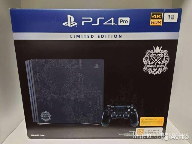 Sony Playstation 4 Pro 1TB Рст лимитированная+геймпад в стиле игры Одни из нас 2 по цене 39999₽ - Игровые приставки, фото 0