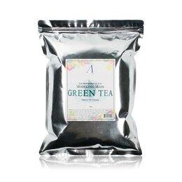 Маски - Маска альгинатная успокаивающая с экстрактом зеленого чая (пакет) Green Tea ..., 0