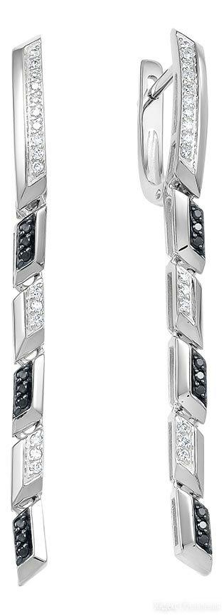 Серьги Vesna jewelry 21044-256-142-00 по цене 47780₽ - Серьги, фото 0