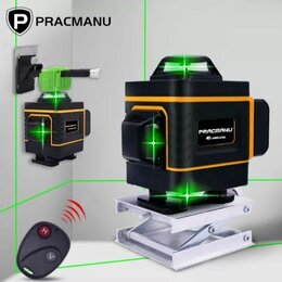 Измерительные инструменты и приборы - Лазерный нивелир pracmanu green ld515, 0