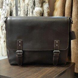 Сумки - Leonard Hayden Dacota кожаная сумка, 0