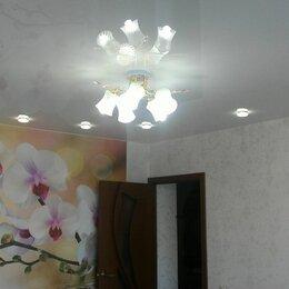 Потолки и комплектующие - Глянцевый натяжной потолок с установкой 10 м2, 0