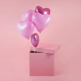 Украшения для организации праздников - Коробка-сюрприз для воздушных шаров, 0