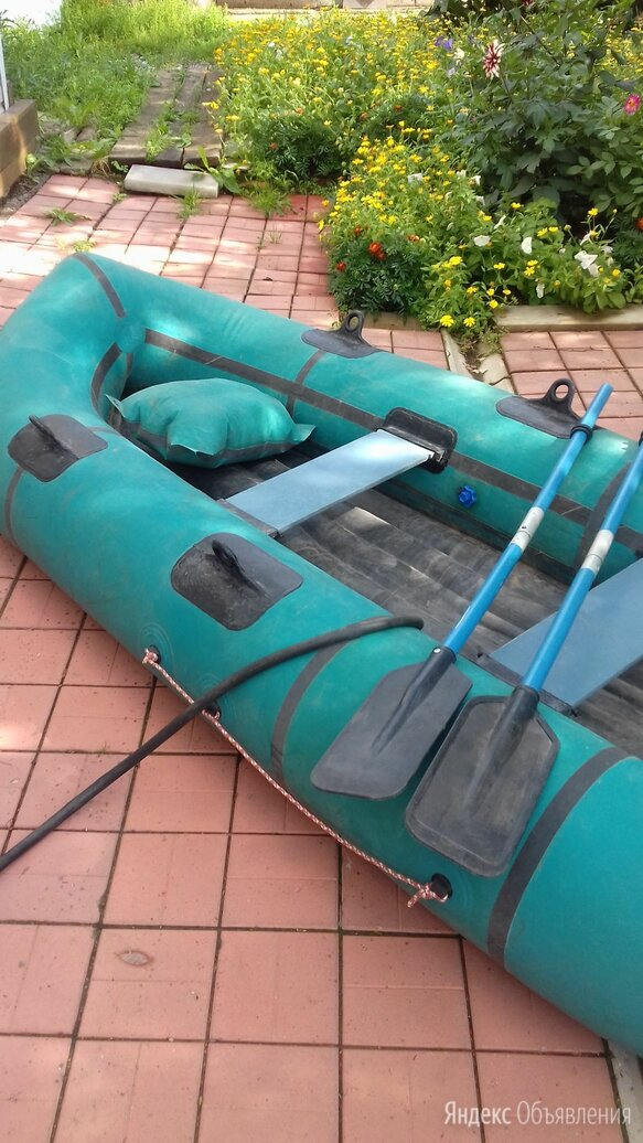 """Надувная лодка """"Турист""""-3 по цене 6000₽ - Надувные, разборные и гребные суда, фото 0"""