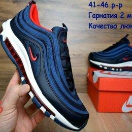 Кроссовки и кеды - Nike air max 97 сине бело красные, 0