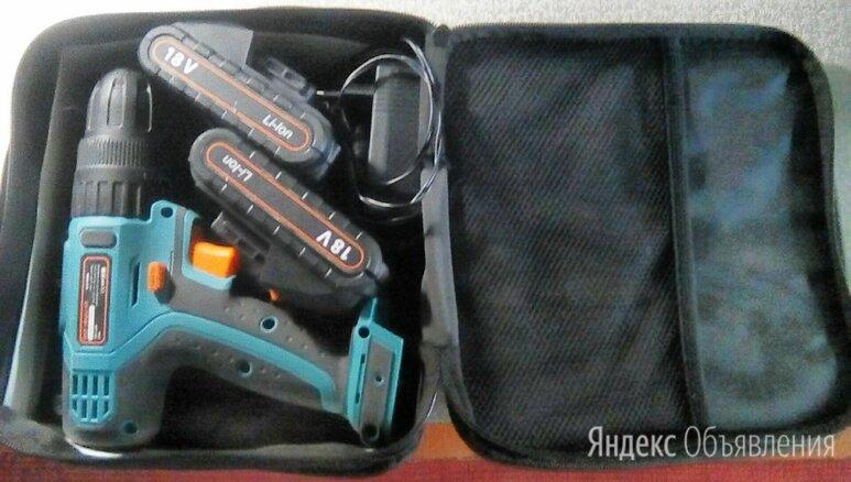 Ударная аккумуляторная дрель-шуруповерт bort bab-18ix2li-fd 37 н·м по цене 1000₽ - Шуруповерты, фото 0
