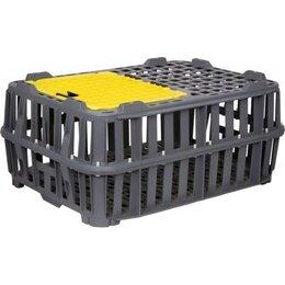 Клетки и домики - Пластиковый ящик 201-00 chicken box для перевозки живой птицы 745x535x335 мм, 0