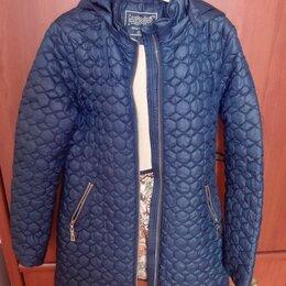 Куртки и пуховики - Куртка детская демисезонная стеганная удлиненная, 0