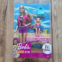 Куклы и пупсы - Barbie Спортивная карьера Барби-тренер по гимнастике FXP39, 0