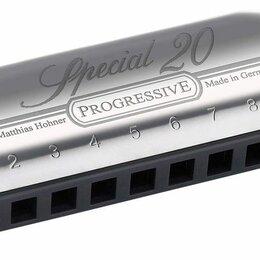 Губные гармошки - Губная гармошка диатоническая Hohner Special 20 560/20 D (M560036X), 0