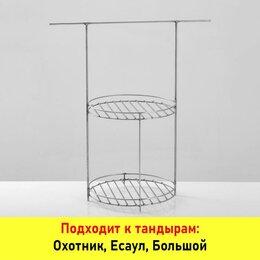 Решетки - Решетка Д23 2-хярусная с доп. кольцом и перекладиной  (под камень Д21), 0