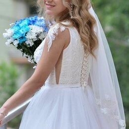 Платья - Свадебное платье (без фаты), 0