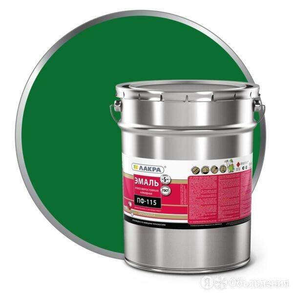 эмаль пф-115 (лакра) 20кг зеленый по цене 3734₽ - Краски, фото 0