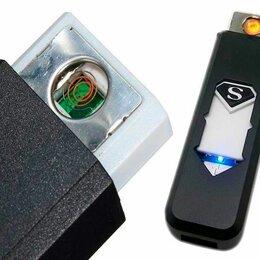 Пепельницы и зажигалки - Электрозажигалка USB, 0