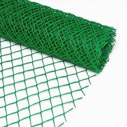 Заборчики, сетки и бордюрные ленты - Сетка садовая 50х50 1,0х20,0м , 0
