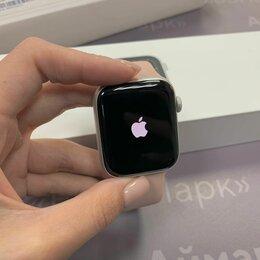 Умные часы и браслеты - Apple Watch Series 5 44mm Silver, 0