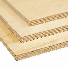 Древесно-плитные материалы - Фанера фк берёза 20 мм 1525 1525мм сорт 4/4 нешлифованная, 0