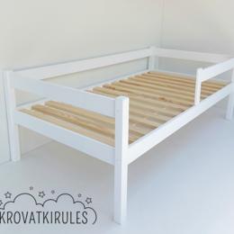 Кроватки - Детская кровать новая с бортиками, 0